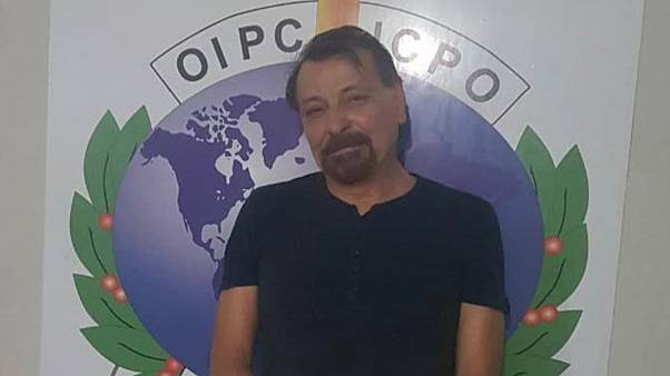 Cesare Battisti after his arrest in Bolivia in January 2019.