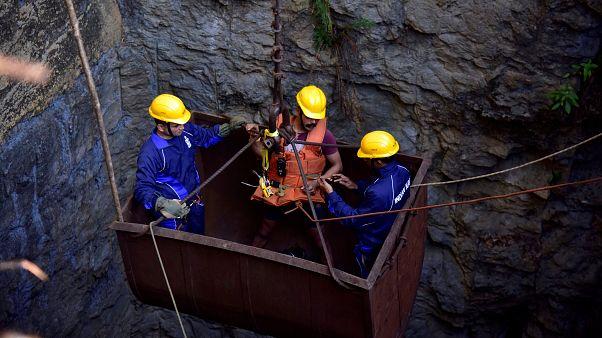 China: 21 Kumpel bei Grubeneinsturz gestorben
