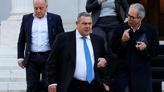 """La República de Macedonia del Norte """"rompe"""" la coalición gubernamental en Grecia"""