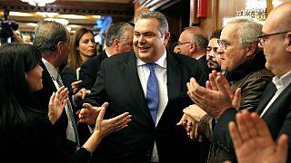 یونان؛ تغییر نام کشور مقدونیه باعث بحران در دولت الکسیس سیپراس شد