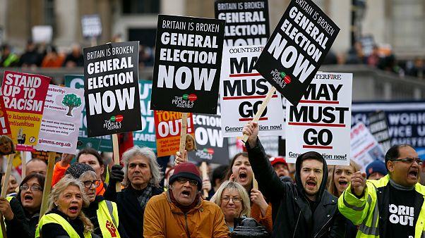 رایگیری درباره توافق برکسیت در مجلس عوام؛ افزایش فشار مخالفان بر دولت بریتانیا