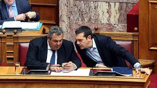 Grécia: Parlamento vota na terça-feira moção de confiança ao governo