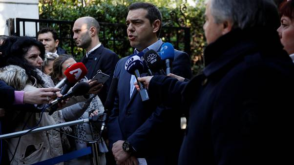 Greek Prime Minister Alexis Tsipras on January 13, 2019.