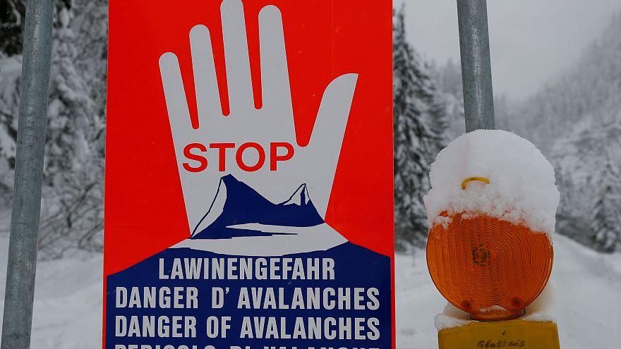 Lawine auf gesperrter Piste: Drei deutsche Skifahrer tot