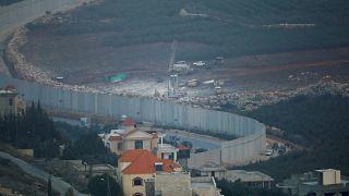 Des équipements de forage ont été installés à la frontière avec le Liban
