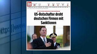 """США угрожают немецким компаниям из-за """"Северного потока-2"""""""