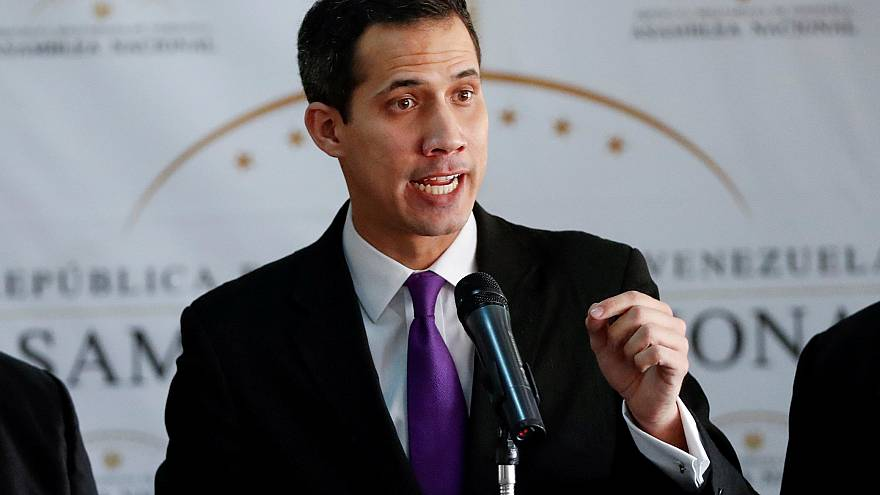 Detención fugaz del presidente de la Asamblea Nacional de Venezuela