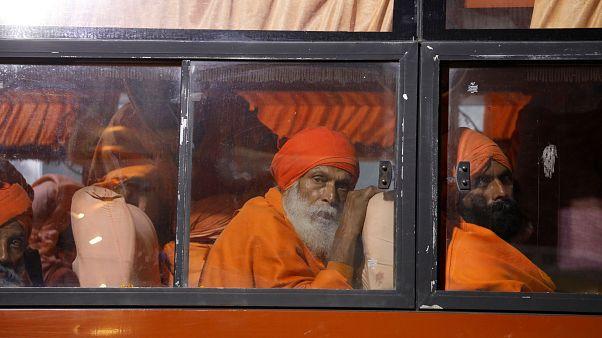 Inde : la cité sacrée d'Allahabad fait peau neuve avant le pèlerinage hindou de la Kumbh Mela