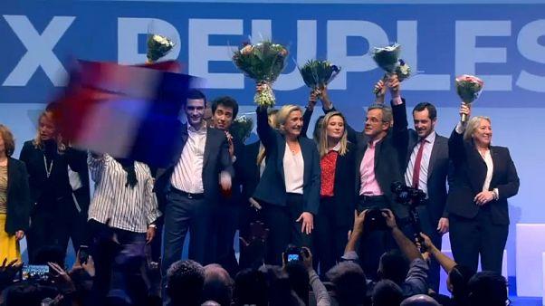 Francia, Marine Le Pen apre la campagna della destra per le europee