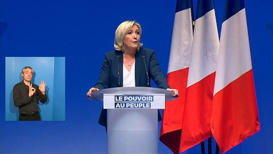 Elindította kampányát Marine Le Pen