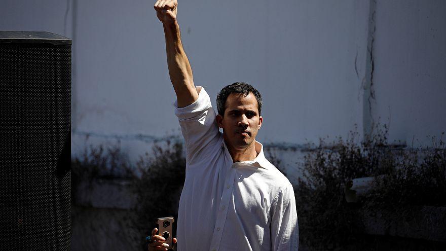 Juan Guaido, chef du parlement vénézuélien qui s'est autoproclamé président