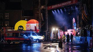 Schock nach Messerattacke auf Bürgermeister von Danzig Adamowicz (53)