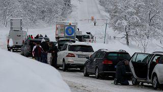 Schneechaos im gesamten Alpenraum geht weiter