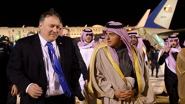 بومبيو يلتقي قادة السعودية واتفاق على استمرار التهدئة في اليمن