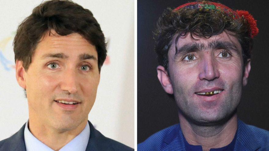 Video | Afgan düğün şarkıcısı Kanada lideri Trudeau'nun 'ikizi' çıktı