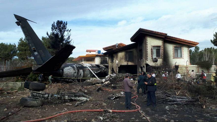 سقوط هواپیمای باری بوئینگ ۷۰۷ در فرودگاه فتح کرج