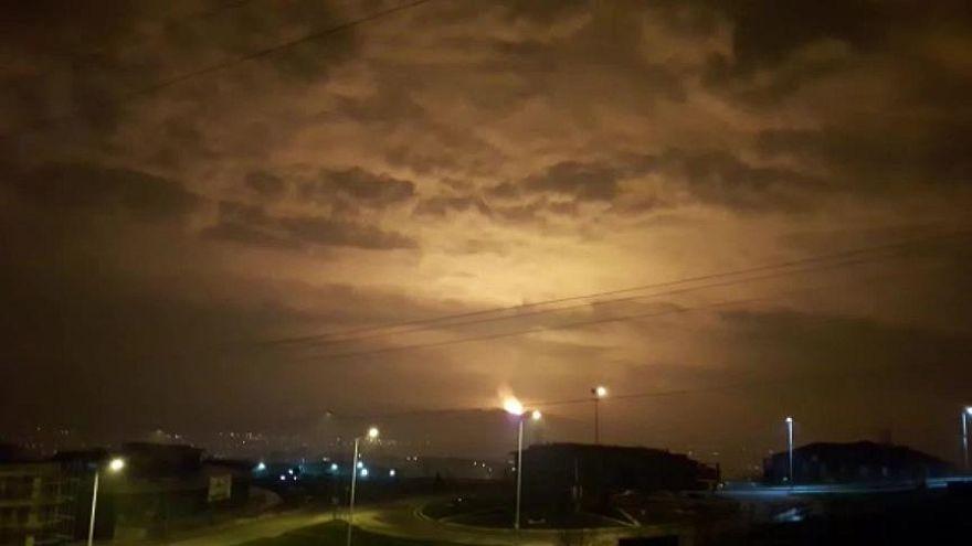 Video | Sakarya'da doğal gaz boru hattında patlama