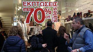 Ελλάδα: Πρεμιέρα για τις χειμερινές εκπτώσεις