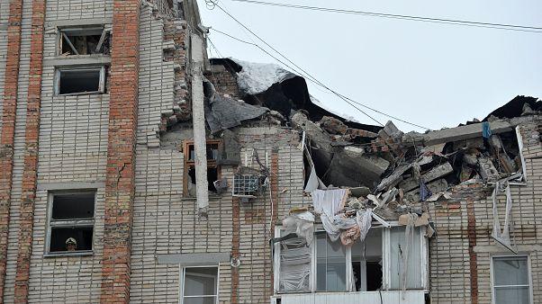 Wieder Gasexplosion in russischem Wohnblock