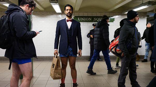 Ημέρα χωρίς παντελόνια στο μετρό