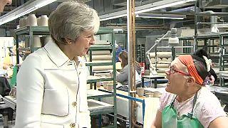 Brexit-kampányúton Theresa May