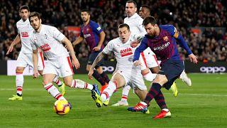 Messi reforça a 'lenda' ao chegar aos 400 golos na Liga Espanhola