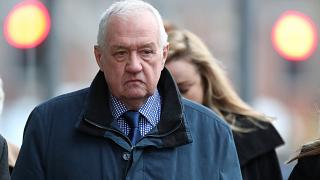 David Duckenfield arriving at Preston Crown Court