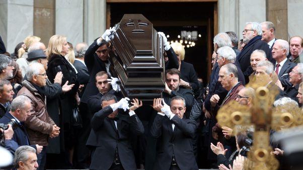 Το «τελευταίο αντίο» στον Δημήτρη Σιούφα