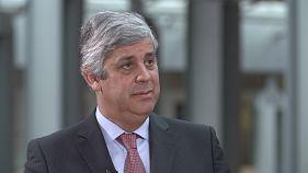 Eurogroup Başkanı Centeno: Avrupa vatandaşları euroya hiç olmadığı kadar güveniyor