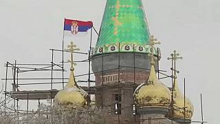 Putin-Kult: Serben bauen russische Kirche