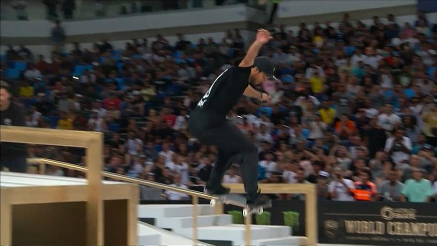 Skateboard : Huston brille au mondial de Rio