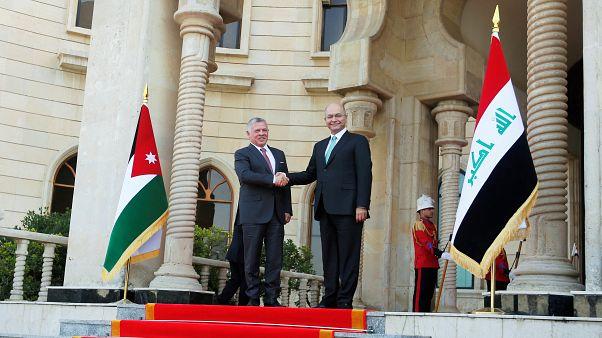 بعد بومبيو.. العاهل الأردني ووزيرا خارجية فرنسا وإيران يزورون العراق