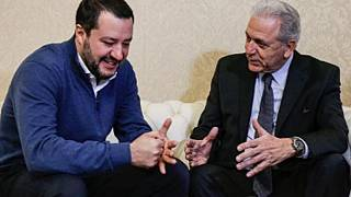 """Avramopoulos-Salvini: """"incontro positivo"""""""