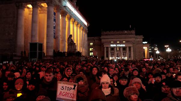 Vigilias en Polonia por la muerte del alcalde de Gdansk