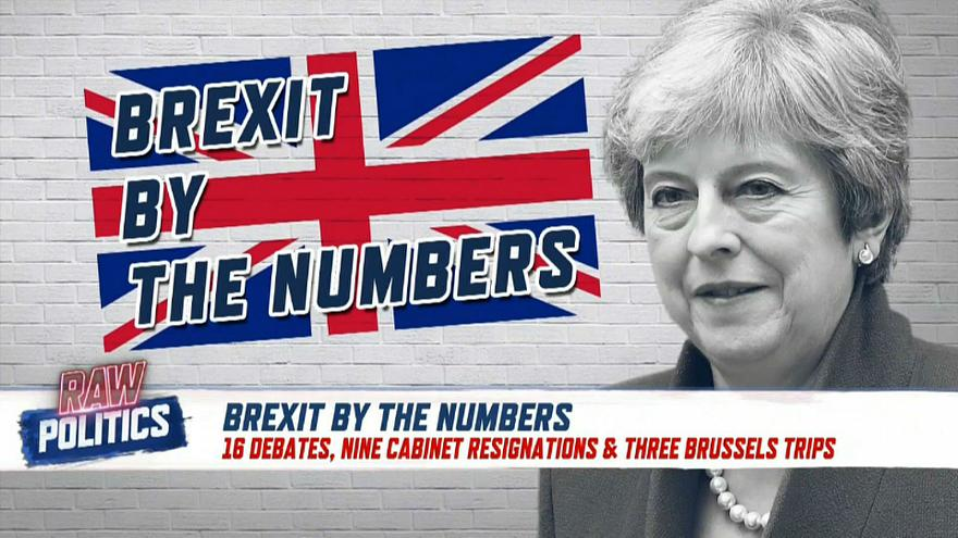 Brexit by numbers: a few figures on May's EU divorce woes