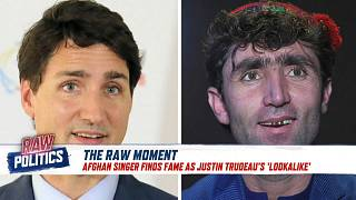 Canada PM Justin Trudeau: is this Afghan singer his lookalike?