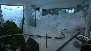 Las fuertes nevadas en Europa se cobran la vida de 26 personas
