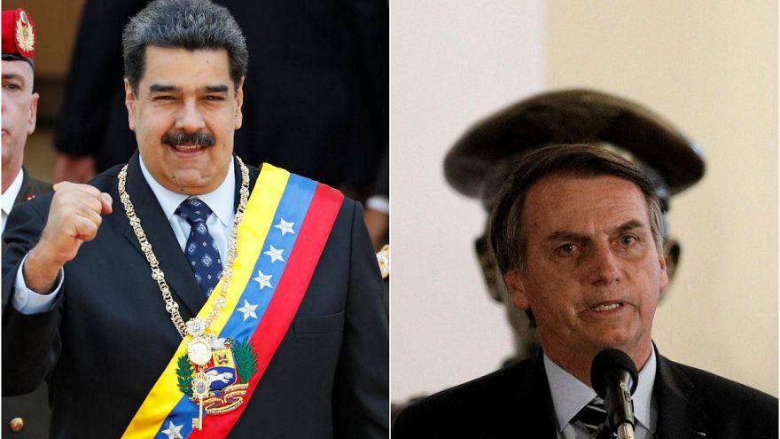 Maduro'dan Brezilya Devlet Başkanı'na Hitler benzetmesi
