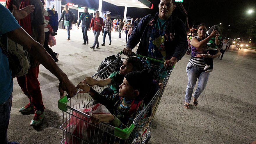 Una nueva caravana hondureña pone rumbo a Estados Unidos