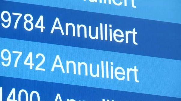 Allemagne : retards et annulations dans 8 aéroports