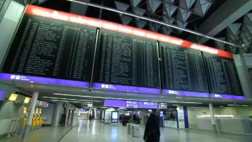 Масштабная забастовка в аэропортах ФРГ