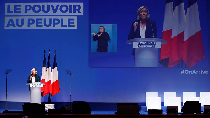 Discours de Marine Le Pen