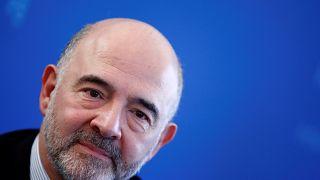 Le Commissaire européen chargé de la Fiscalité Pierre Moscovici
