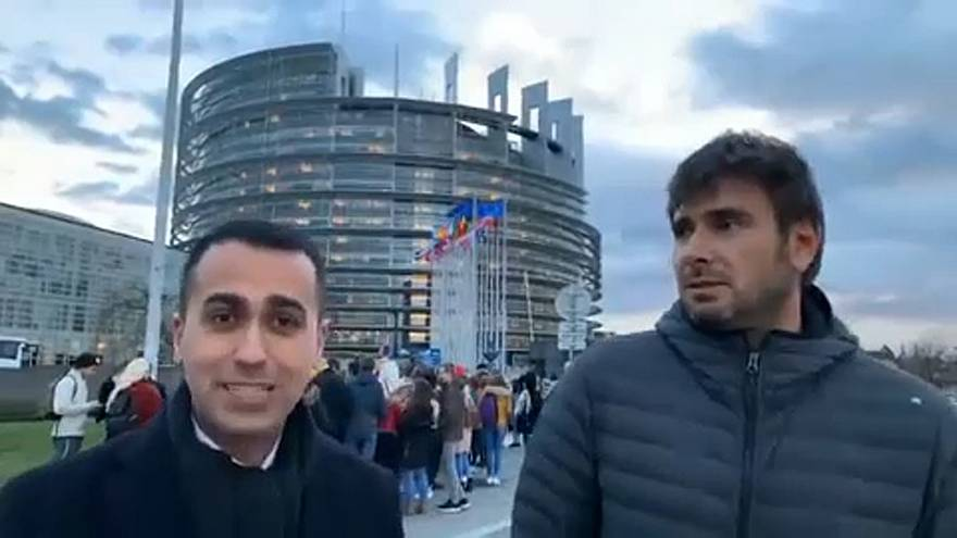 "Di Maio: ""Strasbourg is a waste of money"""