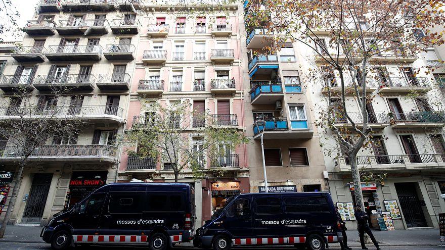 Photo prétexte démantèlement d'une cellule islamiste à Barcelone 15/01/19.
