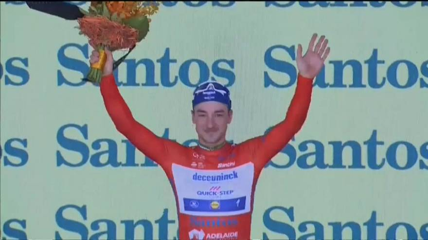 Tour Down Under : Viviani s'impose au sprint