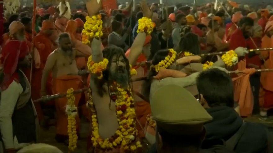 Hindus celebrate Kumbh Mela religious festival