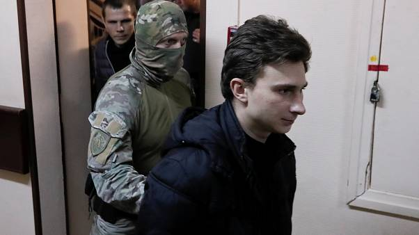 Moscow court extends detention of 4 Ukrainian sailors until April 24