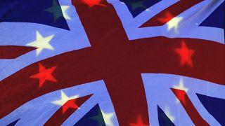 ABD bayrağı üzerine İngiltere bayrağı