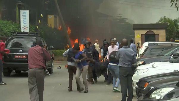 Explosión y disparos en un ataque de Al Shabab en Nairobi